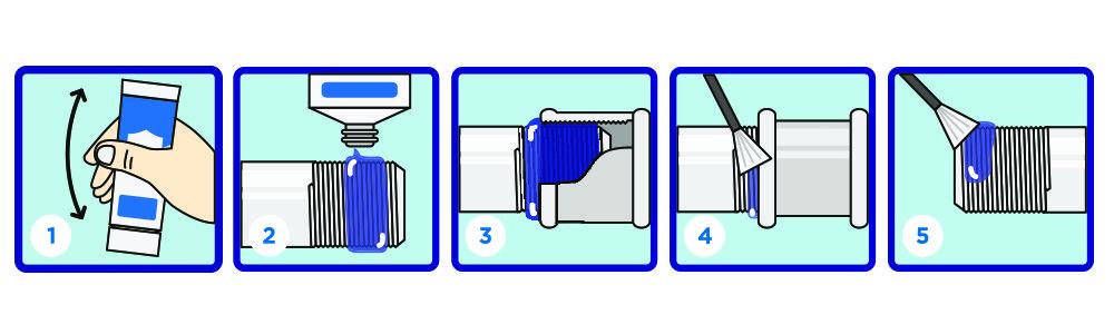 Инструкция по применению анаэробных гелей-герметиков